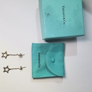 Tiffany and Co Star Drop Earrings